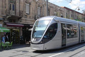 Jerusalem Light Rail — Stock Photo