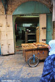 Jerusalem Old City Market — Stock Photo