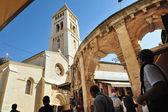 De oude stad jeruzalem markt — Stockfoto