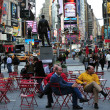 Time Square in Manhattan New York - Stock fotografie