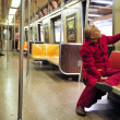 New York City Subway - Stock Photo