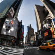 Time Square in Manhattan New York — Stock Photo