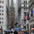 Wall Street Manhattan New York - Stock Photo