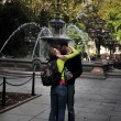 Public displays of affection - Stockfoto