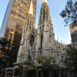 St. Patrick's Cathedral, New York City — Stock Photo