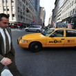 Taxicabs of New York City — Stock Photo