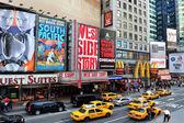 Times square in manhattan new york — Stockfoto