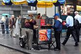 Fast food - cachorro-quente — Fotografia Stock