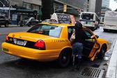 Taksówek z nowego jorku — Zdjęcie stockowe