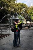 Public displays of affection — Stock Photo