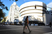 The Solomon R. Guggenheim Museum - New York — Stock Photo