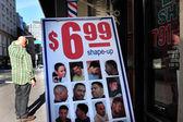 Perdita di capelli e calvizie — Foto Stock