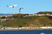 Wellington International Airport — Stock Photo