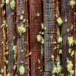 Rustic old rough texture fence  — Stock Photo