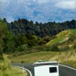Auto-camper on move — Stock Photo #22421643