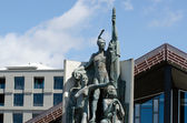Wellington waterfront — Stock Photo
