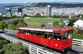 Wellington cable car — Stock Photo