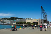 Nábřeží Wellingtonu — Stock fotografie