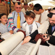 bar mitzvah - jewish coming of age ritual — Stock Photo