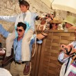 Bar Mitzvah - Jewish coming of age ritual - Stock Photo
