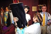 Bar Mitzvah - Jewish coming of age ritual — Stock Photo