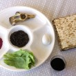 Passover Seder Plate — Stock Photo #23606107