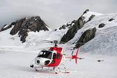 Fox glacier - nový zéland — Stock fotografie