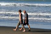 Sumner strand in christchurch, nieuw-zeeland — Stockfoto