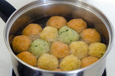 Matzah balls - Passover Food — Stock Photo