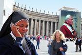 Vatikanstaten i Rom Italien. — Stockfoto
