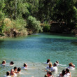 Постер, плакат: Baptism ceremony at the Jordan River