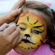 Face painting - Stockfoto