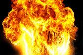 Yangın patlama — Stok fotoğraf