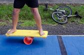 Balance board — Stock Photo