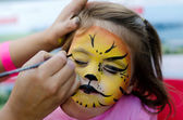Face painting — Stock Photo
