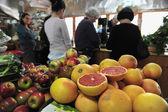 Voedsel markten — Stockfoto