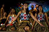 Maori Cultural Show — Stock Photo