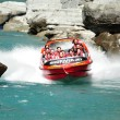 Jet Boat in Queenstown New Zealand — Stock Photo