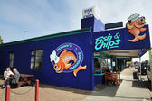 Fish and Chip Shop in New Zealand — Stock Photo