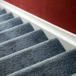 Royalty-Free Stock Photo: Staircase with carpet