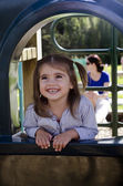 Happy smiley little girl — Stock Photo