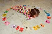 Hebrew alphabet — Stock Photo