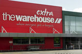 The Warehouse - NZ Discount Store Retailer — Stock Photo