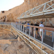 Masada Fortress Israel — Stock Photo