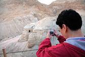 Cuevas de qumran - israel — Foto de Stock