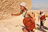 马萨达堡垒以色列 — 图库照片