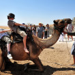Camel Ride and Desert Activities in the Judean Desert Israel — Stock Photo #25123497