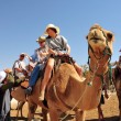 Camel Ride and Desert Activities in the Judean Desert Israel — Stock Photo #25123509