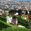 The Bahai Shrines in Haifa - Israel - Stock fotografie