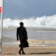 Big waves in Israel — Stock Photo